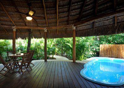 piscina hotel rancho encantado
