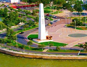 Explanada de la bandera chetumal Quintana Roo