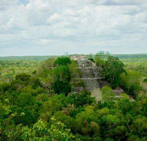 Piramide calakmul campeche