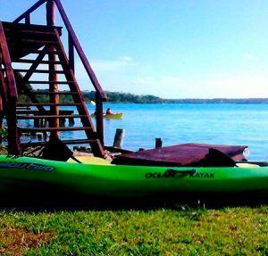 tour kayak laguna de bacalar quintana roo