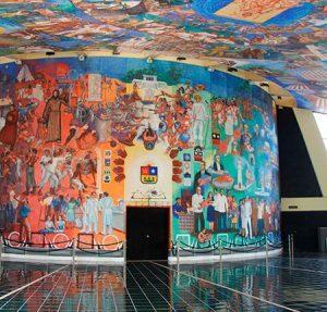 murales del congreso del estado de quintana roo